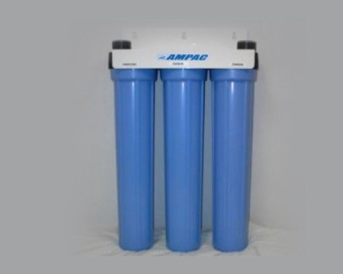 Ampac - Model SL3-20 - Slim Line Twin Home Water Filter