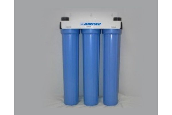 Ampac - Model SL2-20 - Slim Line Twin Home Water Filter