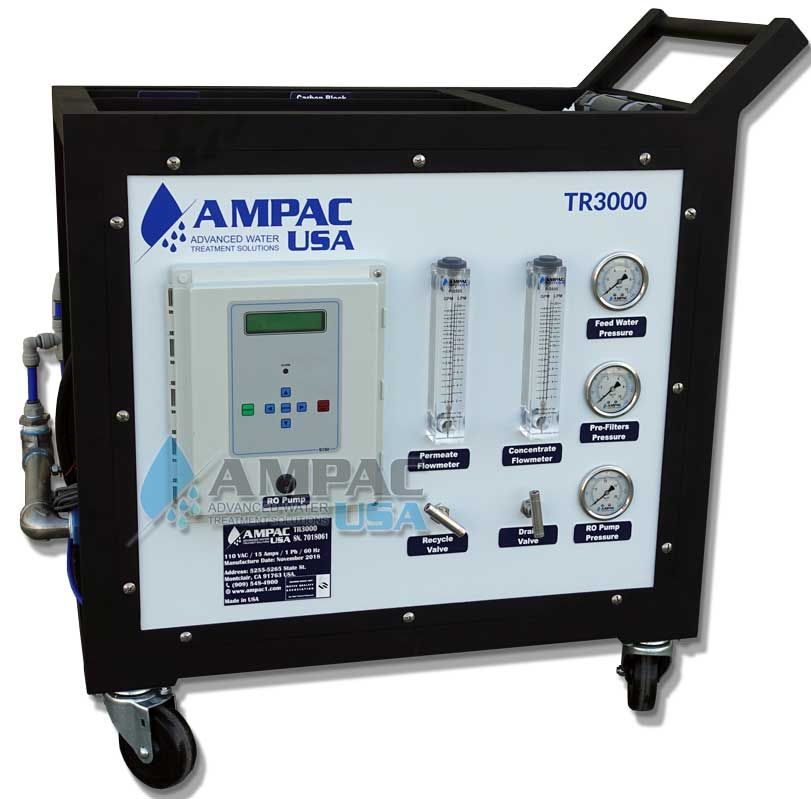 Ampac - Model PCRO-3000 - Portable Reverse Osmosis System 3000 GPD