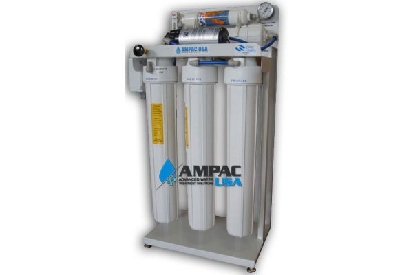 Ampac - Model APRO200 - Light Commercial Reverse Osmosis Water Purification Systems 200 GPD - 750 LPD