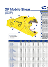 XP - Mobile Shear – Specifications