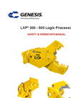 Model LXP - Demolition Jaw Shear Brochure