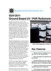 BSI - Model GUV-2511 - Ground-Based UV / PAR Radiometer Brochure