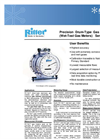 Ritter Volumetric Gas Flow Meters TG Series- Brochure