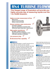 Apollo - Model RN4 - Turbine Flowmeter - Datasheet