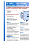 HOVERFLO All Plastic/Bearingless Flowmeter  2 Brochure