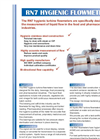 Model RN7 - Hygienic Turbine Flowmeters - Datasheet
