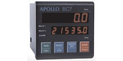 Apollo - Model BC7 - Batch Controller
