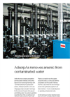 AdsorpAs - Removes Arsenic from Contaminated Water Brochure