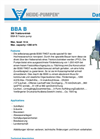 Model BBA B - Tractor Pump Brochure