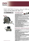 IMS - Model MICRO drive 2 - Robot Groundpipes System - Brochure