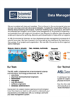 Data Management Consulting Services Brochure