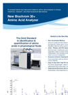 Biochrom - 30+ Series - Amino Acid Analyzer Physiological System Brochure