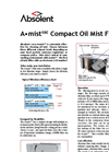 Absolent - Model A mist10C - Oil Mist Datasheet
