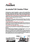 Absolent - Model A Smoke5 - Oil Smoke Filter Datasheet
