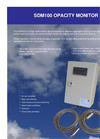 SDM100 - Smoke Density Monitor & Oil Mist Monitor