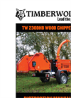 Model TW 230DHB - Road Towable Hydraulic Chippers Manual
