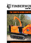 Model TW 230VTR - Tracked Hydraulic Chippers Manual
