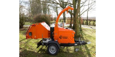 Model TW 280TDHB - Road Towable Hydraulic Chippers