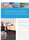 Centralators - Four-Cell Cluster Gravity Filter Brochure
