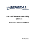 Air and Water Cooled Liquid Chillers Maintenance and Operating Manual