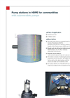 Pump Stations with Submersible Pumps Brochure