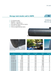 Large Size Double Walled Storage Tanks Brochure
