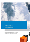 DUSTHUNTER - T50 – T100 – T200 - The Modular Transmissiometer In Three Configurations – Brochure