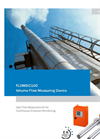 FLOWSIC - 100 - Gas Flow Measuring Devices – Brochure