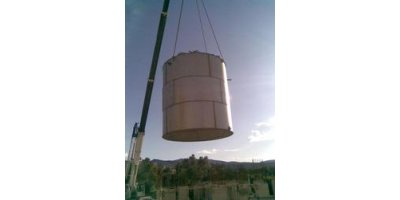 S.K Euromarket - Model Combicell Series - Prefabricated Sewage Treatment Plants - MBBR