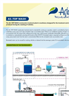 AS-TOP WASH Wastewater Treatment Plant - Leaflet