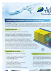 Wastewater Treatment Plants in an ISO Container for 80-350 PE - Brochure