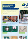 Stainless Steel Products - Brochure