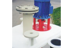 Model AS-TANK PP/M - Plastic Cylindrical Mixing Tanks