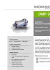 DMP 343 - Stainless Steel Sensor without Media Isolation – Datasheet