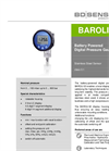 BAROLI 02 Stainless Steel Sensor for Laboratory, Environmental Industry - Datasheet