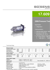 17.609 G Stainless Steel Sensor, Welded for Refrigeration - Datasheet