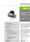 DMD 331 Stainless Steel Sensor for Plant and Mechanical Engineering - Datasheet