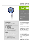 BAROLI 05 Ceramic Sensor for Laboratory, Environmental Industry - Datasheet