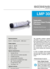LMP 308 i Stainless Steel Sensor and Seperable Probe Ø 35 - Datasheet
