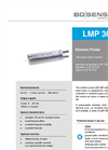 LMP 305 Stainless Steel Sensor and Slimline-Probe Ø 19 - Datasheet