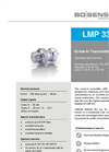 LMP 331 Stainless Steel Sensor for Plant and Mechanical Engineering - Datasheet