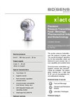 X|ACT CI Ceramic Sensor, Flush for Hygienical Application - Datasheet