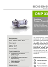 DMP 331 Pi Stainless Steel Diaphragm, Flush for Hygienic Applications - Datasheet