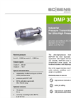 DMP 304 Stainless Steel Sensor Strain Gauge for Oil and Gas Industry - Datasheet