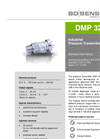 DMP 321 Stainless Steel Sensor for Universal Application - Datasheet