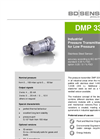 18.600 G Stainless Steel Sensor without Media Isolation Pneumatics - Datasheet