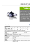 DMD 831 Stainless Steel Sensor for Plant and Mechanical Engineering - Datasheet