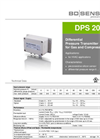 DPS 200 Silicon Sensor for HVAC - Datasheet