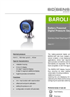BAROLI 02P Stainless Steel Diaphragm for Flush Hygienic Applications - Datasheet